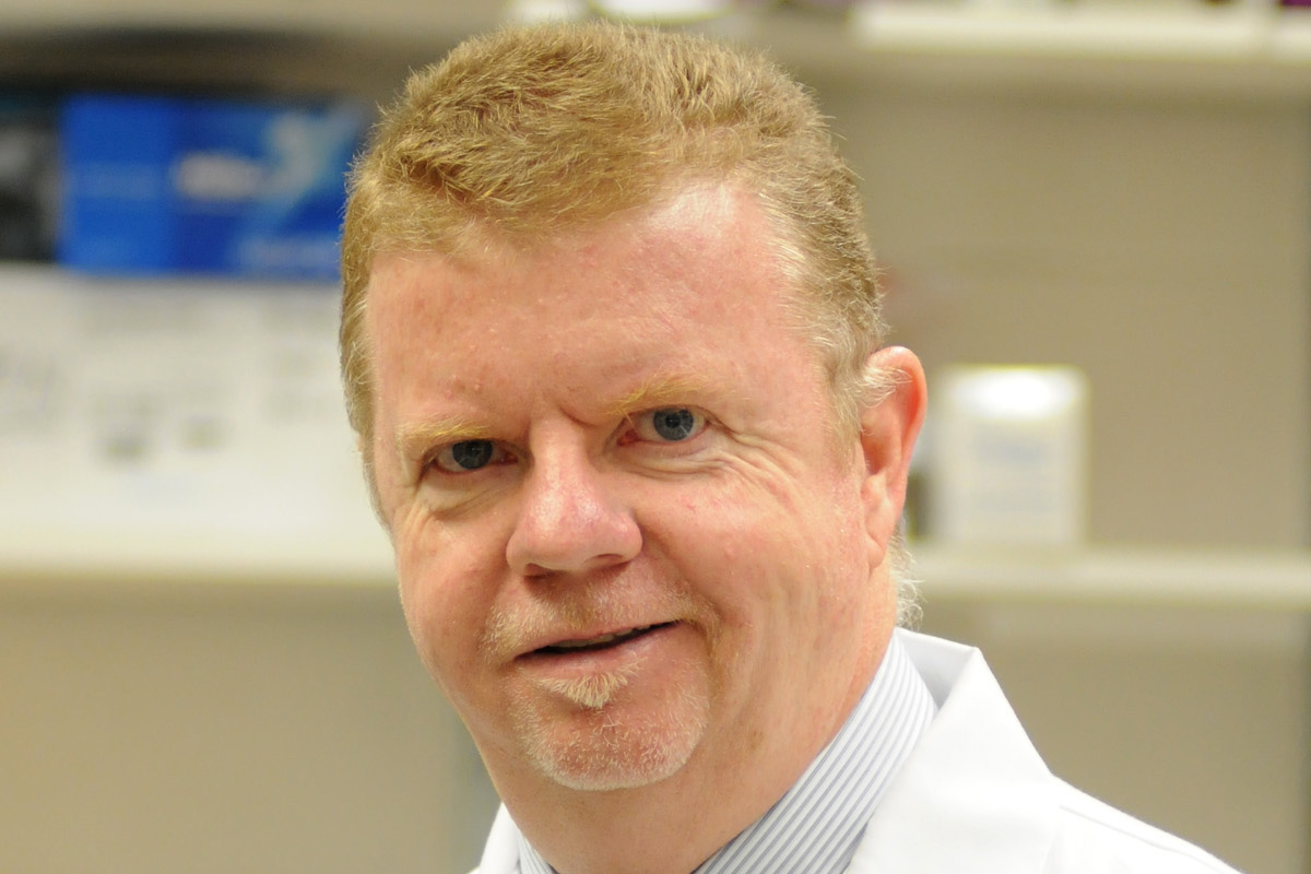 Paul Brindley, professor of microbiology, immunology and tropical medicine