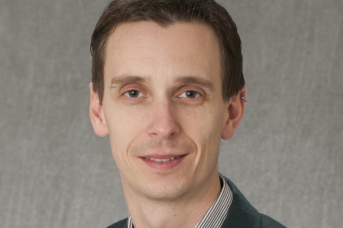 Richard (Brad) Jones, assistant professor of microbiology, immunology and tropical medicine