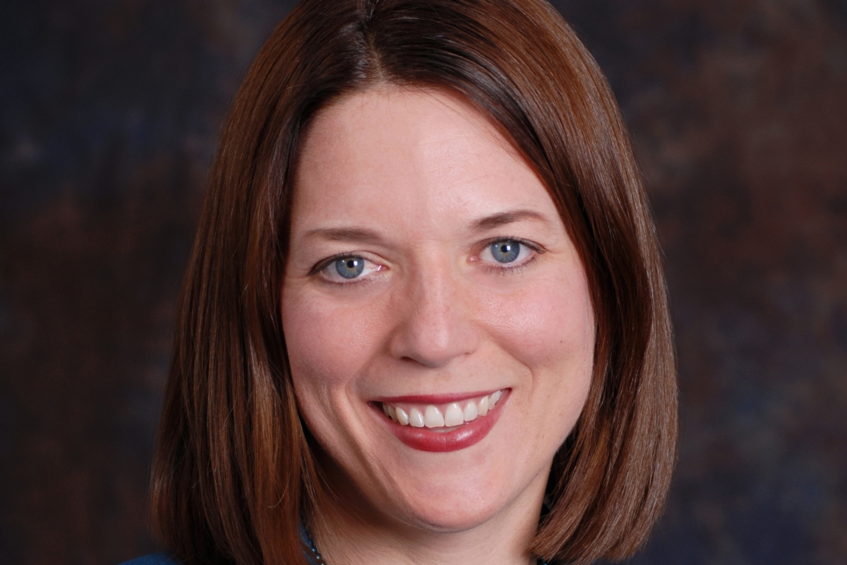 Meghan Chapple, director of the Office of Sustainability