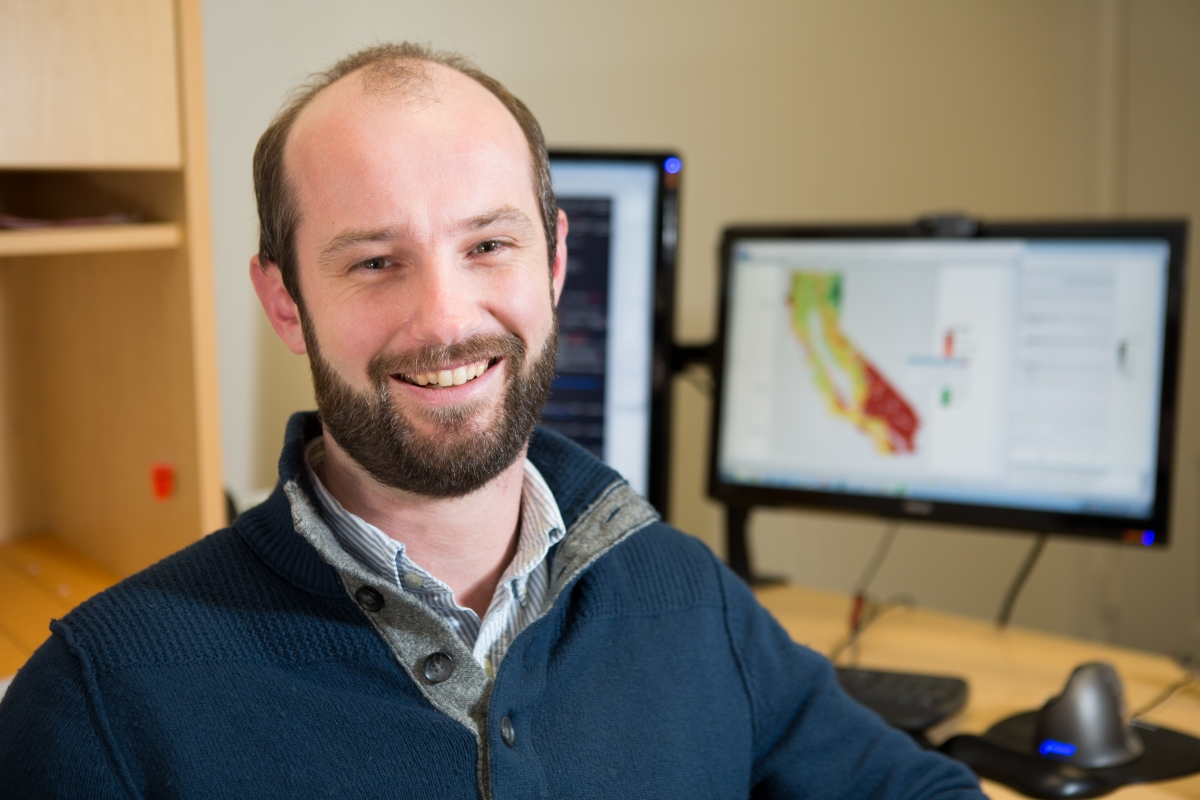 Michael Mann, assistant professor of geography