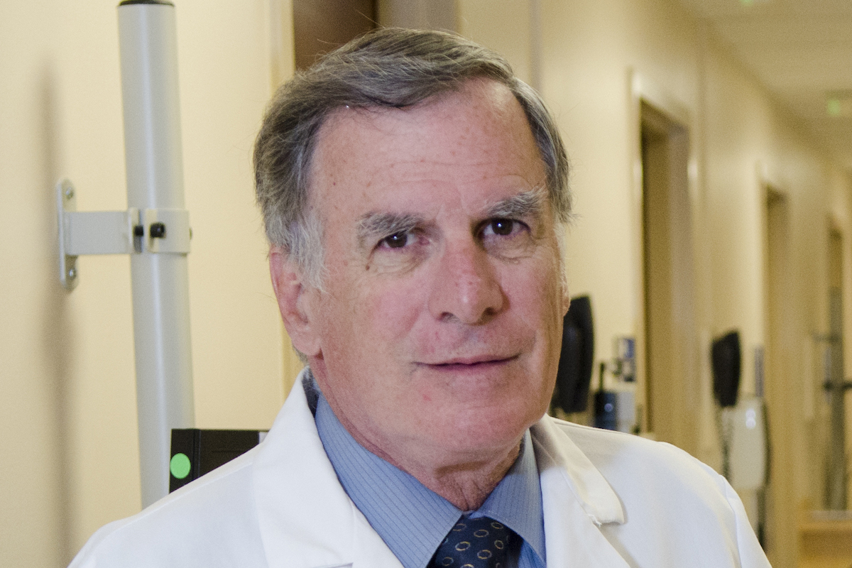 Gary Simon, director of the Division of Infectious Diseases, vice chairman of the Department of Medicine and the Walter G. Ross Professor of Medicine and of Microbiology and Tropical Medicine