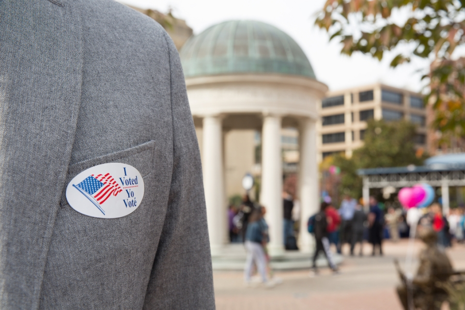 Election Day at GW