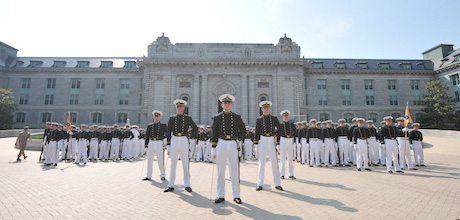 Midshipmen at the United States Naval Academy