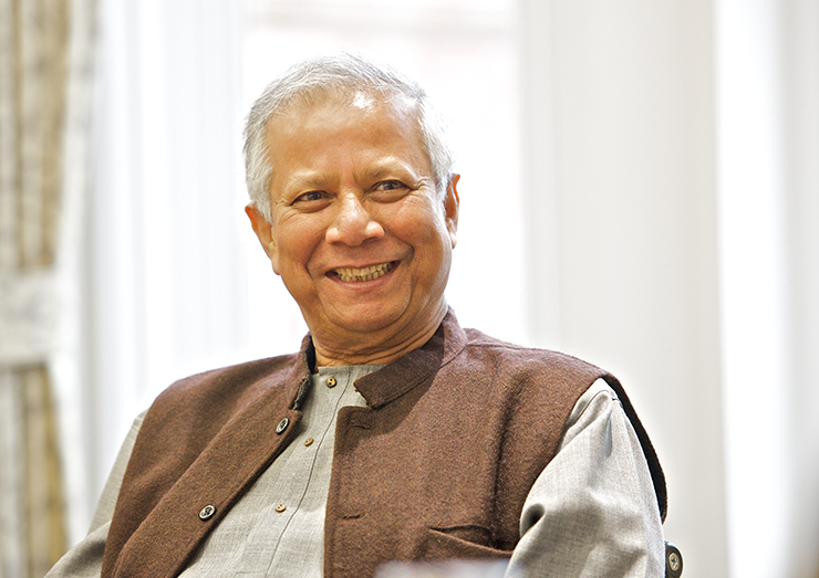 Muhammad Yunus, Nobel Peace Prize laureate and founder of Grameen Bank