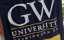 George Washington University Banner