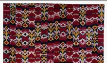 Wall hanging, Central Asia, Uzbekistan, mid-19th century. The Textile Museum 2015.11.4. Gift of Guido Goldman.